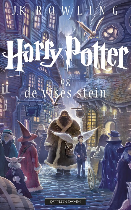 Harry Potter (dl 1) og de vises stein (pocket)